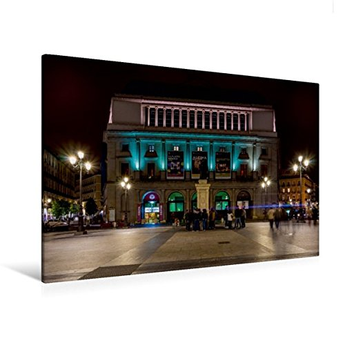 Teatro Real, Leinwanddruck auf Keilrahmen, in vier Größen erhältlich bei Amazon