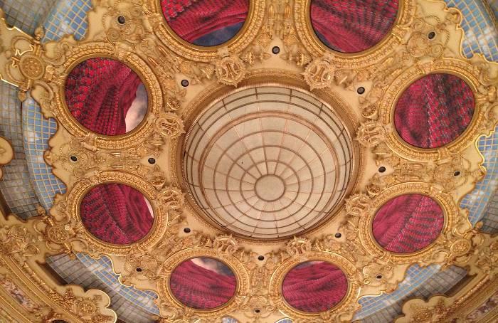Decke Zuschauerraum Gran Teatro Del Liceu in Barcelona, Pixabay